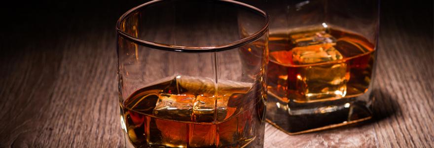 whisky et le bourbon