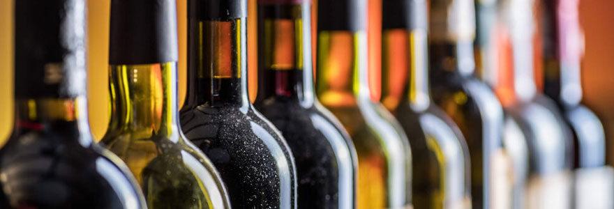 Achat de vins chez un producteur en ligne